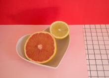 pomelo y limon rosa rojo